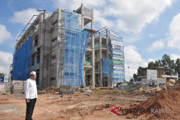 Pembangunan 12 gedung baru ULM hampir rampung