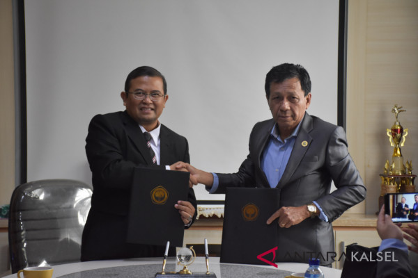ULM dan UWGM teken MoU kemitraan Pascasarjana