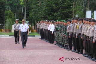Gelar pasukan Pejabat Bupati Bacakan Sambutan Kapolri