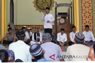 Wabup Hadiri Peringatan Nuzulul Qur'an Kolam Kiri