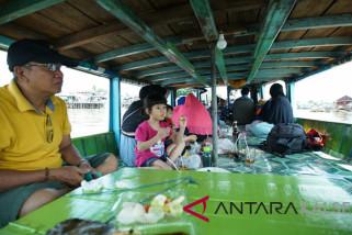 Pariwisata susur sungai martapura meningkat malam Ramadhan