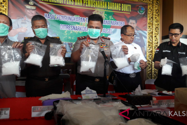 20 kg sabu-sabu disclosure a sweet gift of two-star police chief