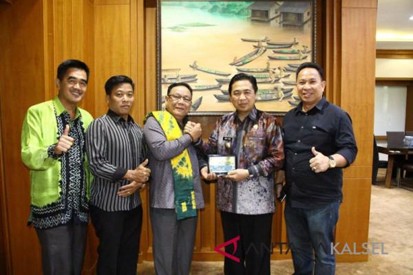 Wali Kota terima kunjungan DPRD Murung raya