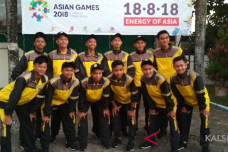 South Kalimantan football team competes in Aceh