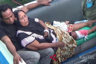 Buaya muara serang warga Pantai Kotabaru