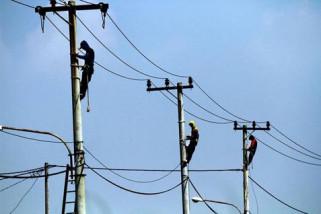 Rasio elektrifikasi KalseltengI 85,95 persen