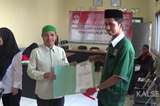 PKB Parpol pertama daftar ke KPU Kotabaru