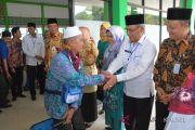 Dua JCH embarkasi Banjarmasin tertunda diberangkatkan