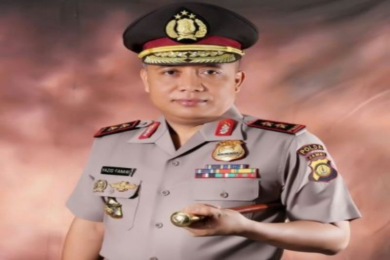 Irjen Yazid Fanani, South Kalimantan Regional Police Chief