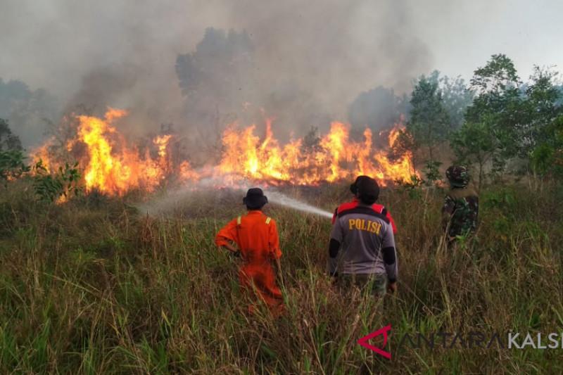 Banjarbaru is overwhelmed facing land fires