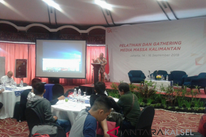 Gathering media massa Kalimantan