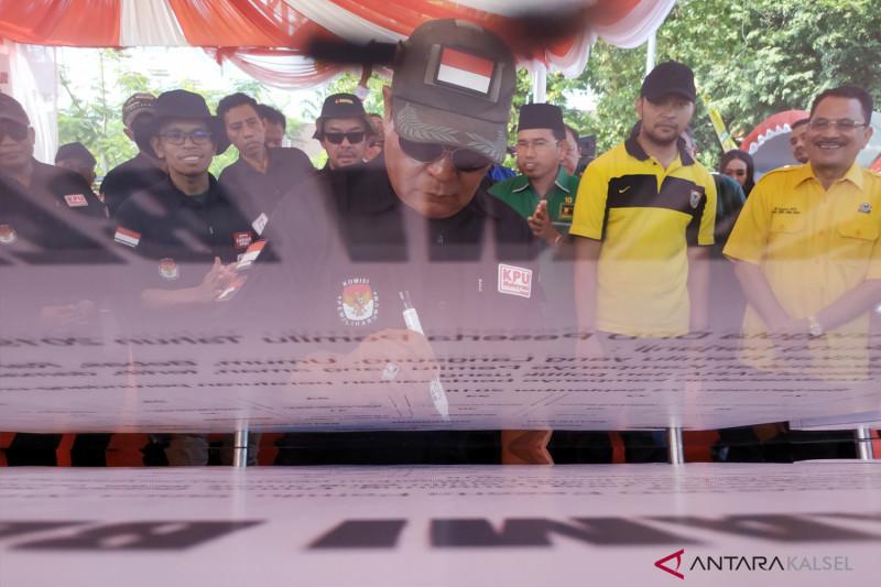 Deklarasi Kampanye Damai Peserta Pemilu