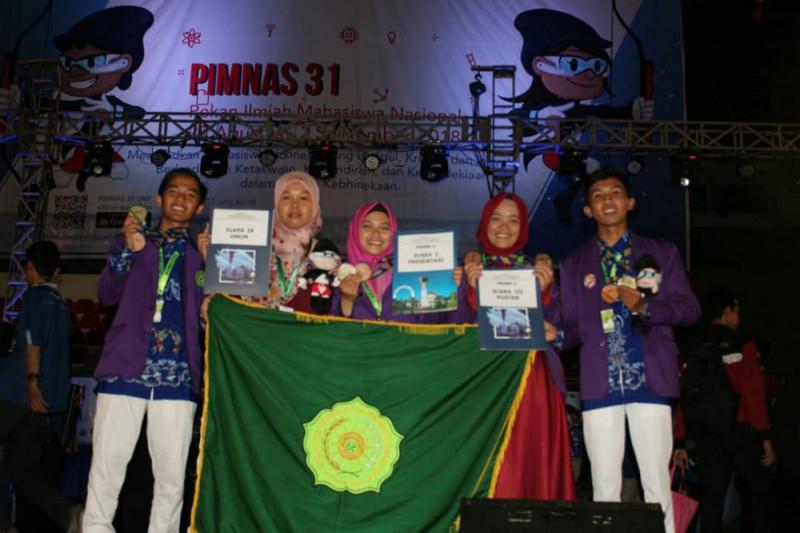 STKIP Muhammadiyah Sampit juara umum ke 9 PIMNAS ke-31