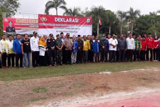 Polres Tabalong gelar Sispamkota pengamanan Pemilu 2019