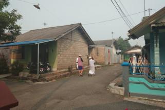 Kabut asap selimuti kawasan perkotaan Banjarbaru