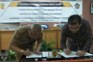 Pemkab HST dan KPP Pratama Barabai kerja sama terkat  perpajakan