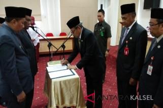 Bupati Balangan laksanakan reshuffle pejabat