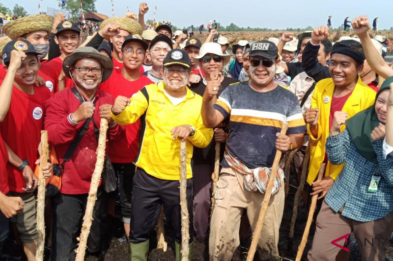ULM kerahkan 5.000 mahasiswa menanam di lahan HPS Desa Jejangkit