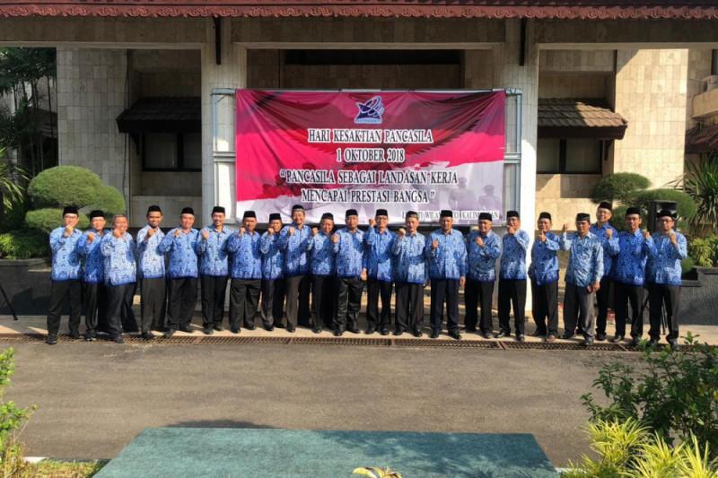 LLDIKTI Wilayah XI gelar upacara Peringatan Hari Kesaktian Pancasila