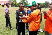 Sungai Landas juara Sepak Bola Gala Desa
