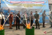 Polres Banjar musnahkan narkotikan Rp2 miliar