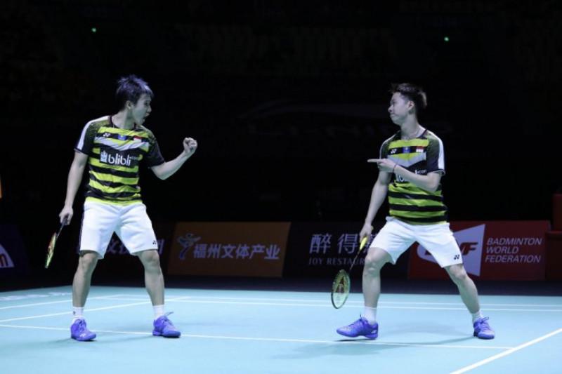 Minions rebut gelar juara China Terbuka 2018