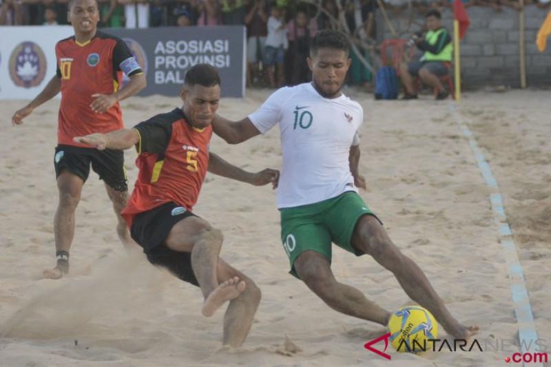 Indonesia hadapi Malaysia di sepak bola pantai Piala AFF