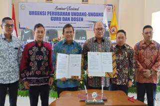DPR minta masukan ULM untuk pemisahan payung hukum guru dan dosen