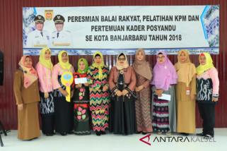 Balai Rakyat Loktabat Selatan Banjarbaru diresmikan