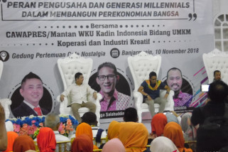 Sandiaga Uno has nostalgia in South Kalimantan