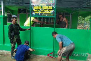 Masuki hari ke-27 pembangunan Masjid Nurul Ihsan capai 85 persen