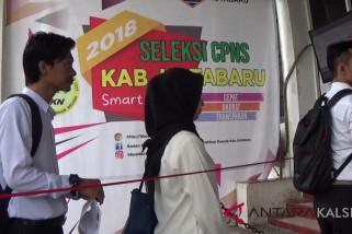 Ratusan peserta CPNS di Kotabaru gugur