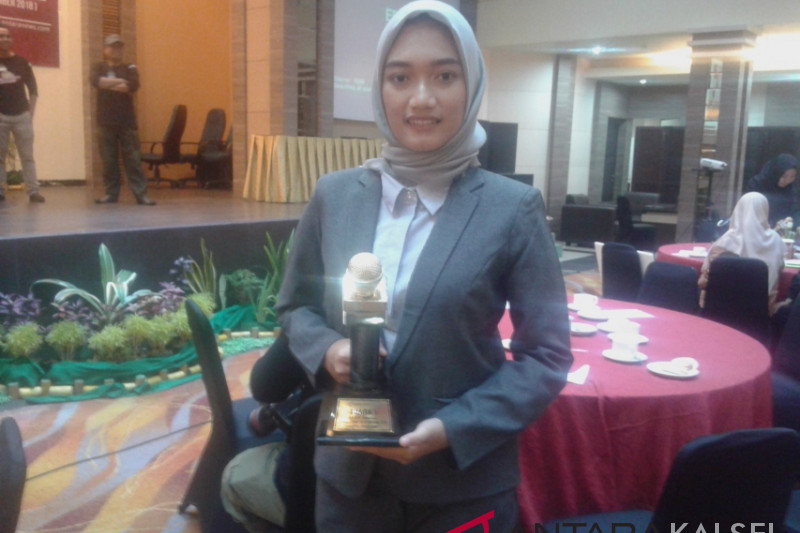 SMAN 1 Jorong alumnus first winner Antara TV Presenter Contest