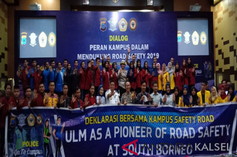 S Kalimantan police invites ULM to be road safety pioneer