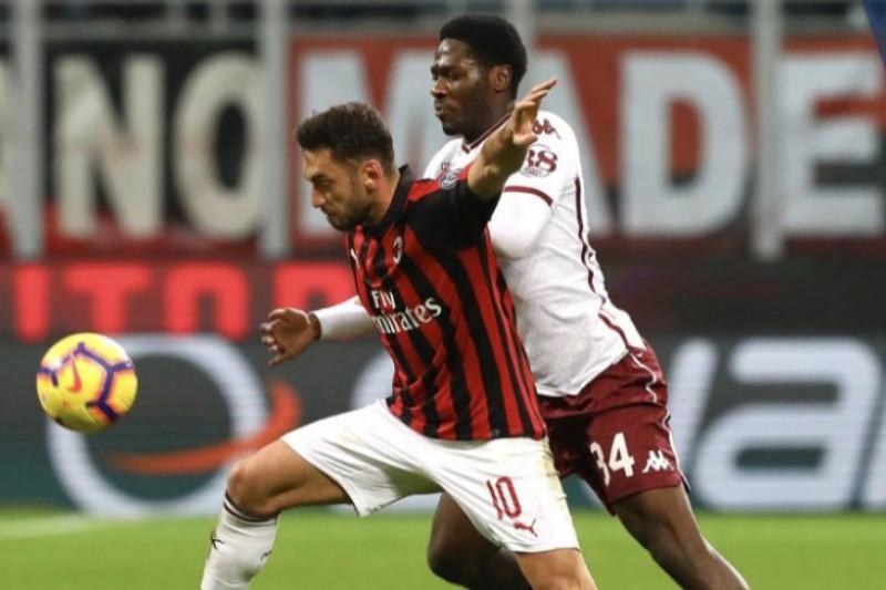 Milan vs Torino berakhir imbang tanpa gol