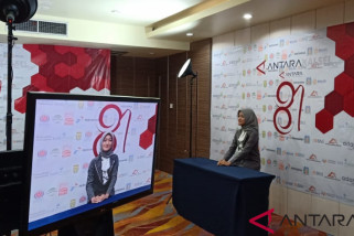 20 finalis presenter lomba TV Antara Kalsel berlaga
