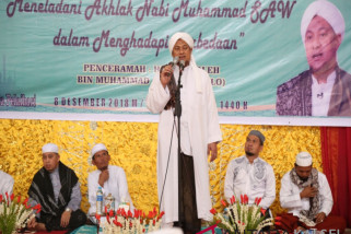 Maulid di Masjid Agung Syuhada
