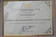 HST Kembali terima penghargaan Kabupaten peduli HAM