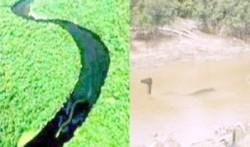 Sungai pedalaman serawak malaysia dan pedalaman mahakam (kalimantan