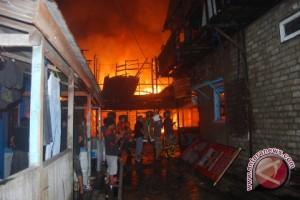 Kebakaran Hanguskan Rumah Warga Bengalon Kutai Timur
