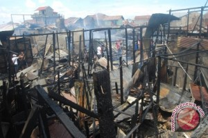 24 Rumah Warga Samarinda Terbakar