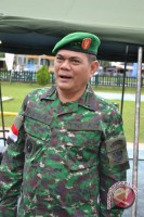 Wakasad Puji Personel TNI di Pos Perbatasan