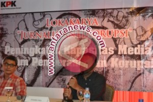 Lokakarya Jurnalis Antikorupsi