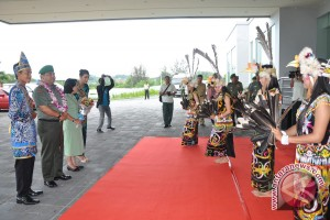 Mayjen TNI Dicky Wainal Tiba di Balikpapan