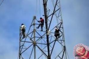 Pembangunan Menara Perbatasan Swakelola Dengan TNI AD