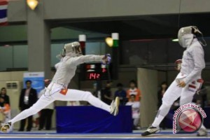 Samarinda Pimpin Perolehan Medali Kejurprov Anggar Kaltim