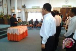 KPU Lantik PPK se-Kabupaten Paser