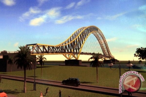 Pembangunan Jembatan Kukar Tuntas Dua Tahun