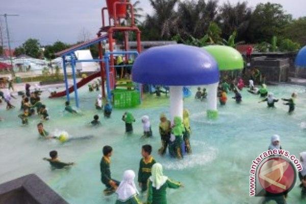 Waterpark Kenari Jadi Arena Eskul Favorit Pelajar Bontang