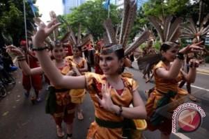 Promosi Empat Provinsi Kalimantan Lewat Tarian